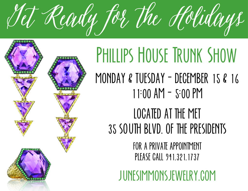 Phillips House Trunk Show